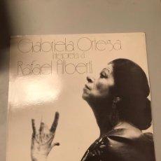 Discos de vinilo: RAFAEL ALBERTI. Lote 174047658