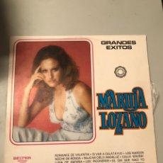 Discos de vinilo: MARUJA LOZANO. Lote 174047672