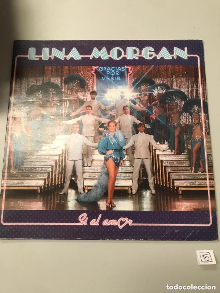 LINA MORGAN (Música - Discos - LP Vinilo - Clásica, Ópera, Zarzuela y Marchas)