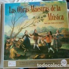 Discos de vinilo: LAS OBRAS MAESTRAS DE LA MUSICA LP. 12 LPS.. Lote 173748252