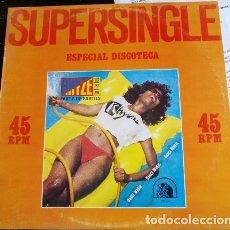 Discos de vinilo: SUPERSINGLE ESPECIAL DISCOTECAS. LP.. Lote 173748043