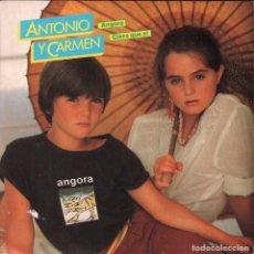 Discos de vinilo: ANTONIO Y CARMEN / ANGORA / CLARO QUE SI - SINGLE WEA RECORDS DE 1983 RF-4042 , BUEN ESTADO. Lote 174050512