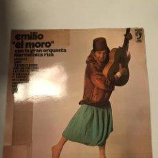 Discos de vinilo: EMILIO EL MORO. Lote 174058092