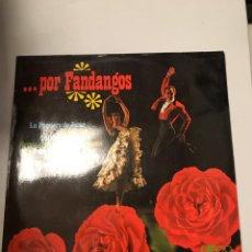 Discos de vinilo: POR FANDANGOS. Lote 174058134