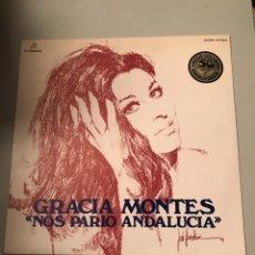 Discos de vinilo: GRACIA MONTES. Lote 174058179