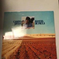 Discos de vinilo: MANUEL DE PAULA. Lote 174058483