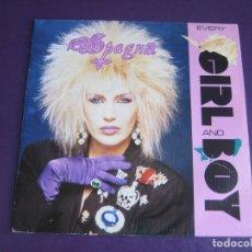 Discos de vinilo: SPAGNA SG CBS PROMO 1988 - EVERY GIRL AND BOY (CARA B LISA) - SIN ESTRENAR - ITALODISCO 80'S DISCO . Lote 174059238