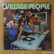 Discos de vinilo: VILLAGE PEOPLE - FOX ON THE BOX - LP. Lote 174060407
