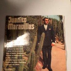Discos de vinilo: JUANITO MARAVILLAS. Lote 174061770