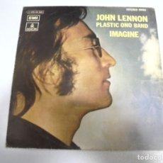 Disques de vinyle: SINGLE. JOHN LENNON. PLASTIC ONO BAND. IMAGINE. 1971. EMI ODEON. Lote 174063735