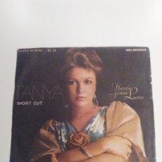 Discos de vinilo: TANYA TUCKER SHORT CUT / HERE'S SOME LOVE ( 1977 MCA RECORDS ESPAÑA ). Lote 174064577