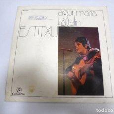 Discos de vinilo: SINGLE. ESTITXU. AGUR MARIA / KATTALIN. 1972. COLUMBIA. Lote 174066962