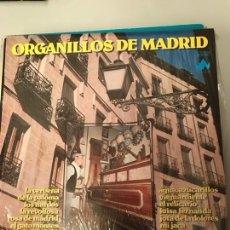 Discos de vinilo: ORGANILLOS DE MADRID. Lote 174073348