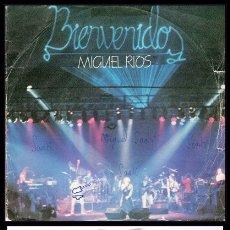 Discos de vinilo: MIGUEL RIOS, BIENVENIDOS, EL RIO Y SANTA LUCIA.. Lote 174076130