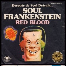 Disques de vinyle: XX RED BLOOD, SOUL FRANSKENSTEIN Y BLOOD TRANSFUSION.. Lote 174077787