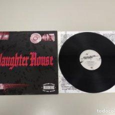 Disques de vinyle: JJ8- SLAUGHTER HOUSE 1990 ENGLAND VINILO LP PORT VG + DISC VG +. Lote 174078755