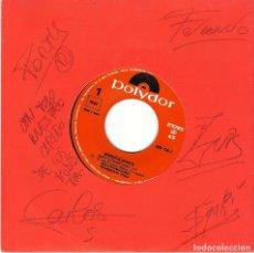 Discos de vinilo: MODESTIA APARTE. ¡CON FIRMAS DE TODOS LOS COMPONENTES! MARÍA. NUEV0 POLYDOR 1992. PROMO.. Lote 174084354