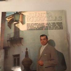 Discos de vinilo: JUANITO MARAVILLAS. Lote 174086789