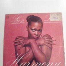 Discos de vinilo: SUZI LANE HARMONY / GIVIN IT UP ( 1979 ELEKTRA HISPAVOX ESPAÑA ) GIORGIO MORODER. Lote 174087927