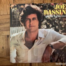 Discos de vinilo: JOE DASSIN – GRANDS SUCCÈS VOL. 3 SELLO: CBS – CBS 22032, CBS – CBS 81461, CBS – CBS 65907 . Lote 174094417