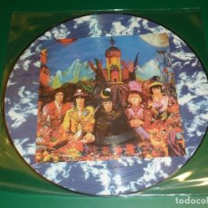 Discos de vinilo: ROLLING STONES THEIR SATANIC MAJESTIES REQUEST PICTURE DISC. Lote 174096462