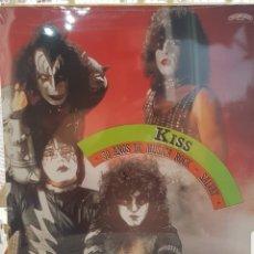 Discos de vinilo: KISS - 30 AÑOS DE MUSICA ROCK- LP NUEVO NUNCA USADO. Lote 174097058