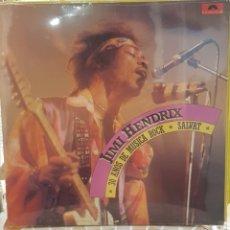 Discos de vinilo: JIMMY HENDRIX - 30 AÑOS DE MUSICA ROCK - LP NUEVO NUNCA USADO. Lote 174097179