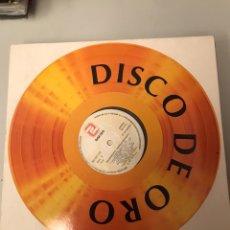 Discos de vinilo: DISCO DE ORO - SACROMONTE ENRIQUE MORENTE. Lote 174097318