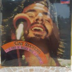 Discos de vinilo: CAT STEVENS - 30 AÑOS DE MUSICA ROCK - LP NUEVO NUNCA USADO. Lote 174097490