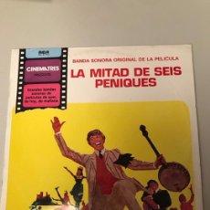 Discos de vinilo: LA MITAD DE 6 PENIQUES. Lote 174099187