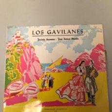 Discos de vinilo: LOS GAVILANES. Lote 174106039