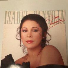 Discos de vinilo: ISABEL PANTOJA. Lote 174106780