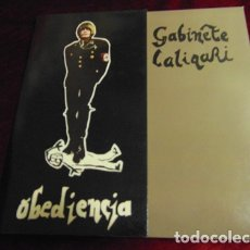 Discos de vinilo: GABINETE CALIGARI - OBEDIENCIA - SINGLE 1982. Lote 174121609
