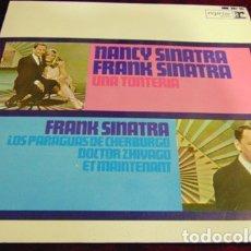 Discos de vinilo: NANCY SINATRA & FRANK SINATRA – UNA TONTERÍA + 3 - EP 1967 ESTADO EXCELENTE. Lote 174121749