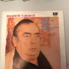 Discos de vinilo: MANOLO CARACOL. Lote 174127070