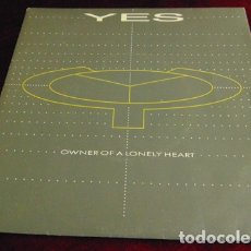 Dischi in vinile: YES – OWNER OF A LONELY HEART - SINGLE. Lote 174129448