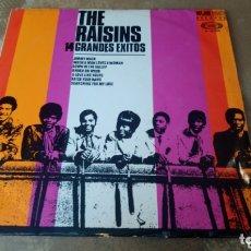 Discos de vinilo: THE RAISINS - 14 GRANDES ÉXITOS. LP 1968.. Lote 174132852