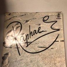 Discos de vinilo: RAPHAEL. Lote 174135140