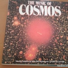 Discos de vinilo: THE MUSIC OF COSMOS LP CARL SAGAN SERIE GATEFOLD SPAIN. Lote 174137514