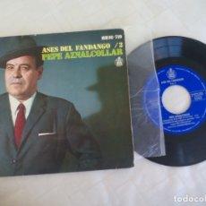 Discos de vinilo: PEPE AZNALCOLLAR. ASES DEL FLAMENCO VOL. 2. HERMANITAS DE LA CRUZ. HISPAVOX 1969. HH 16-719. Lote 174143770