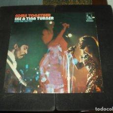 Discos de vinilo: IKE & TINA TURNER AND IKETTES LP COME TOGETHER. Lote 174148878