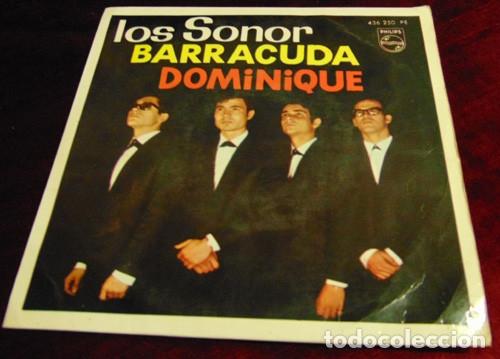 LOS SONOR - DOMINIQUE + 3 - EP 1964 (Música - Discos de Vinilo - EPs - Grupos Españoles 50 y 60)