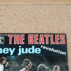 Discos de vinilo: THE BEATLES, HEY JUDE REVOLUTION. Lote 174152305