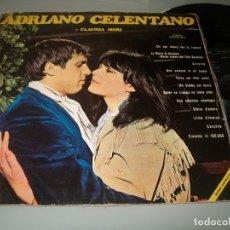 Discos de vinilo: ADRIANO CELENTANO Y CLAUDIA MORI... LP, CHI NON LAVORA NON FA L´AMORE +11, AÑO 1970. Lote 174156160