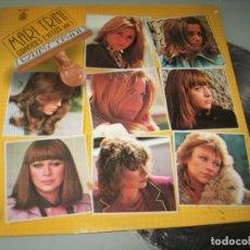Discos de vinilo: MARI TRINI - GRANDES EXITOS ...VOL 1 .. LP DE 1980 - MUY BUEN ESTADO - HISPAVOX. Lote 174156323