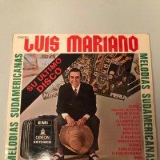 Discos de vinilo: LUIS MARIANO. Lote 174156330