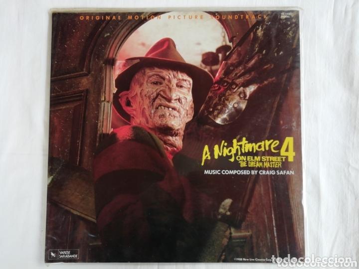 A NIGHTMARE ON ELM STREET 4. BSO ( PESADILLA EN ELM STREET 4) 1988 (Música - Discos - LP Vinilo - Bandas Sonoras y Música de Actores )