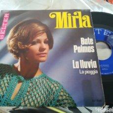 Discos de vinilo: MIRLA SINGLE BATE PALMAS 1969. Lote 174165250