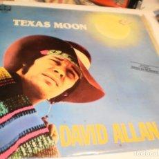 Discos de vinilo: LP DAVID ALLAN COE. TEXAS MOON. CHARLY RECORDS 1980 SPAIN (PROBADO Y BIEN). Lote 174168145