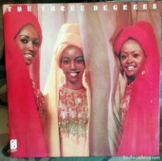 Discos de vinilo: THE THREE DEGREES – THE THREE DEGREES LP, GATEFOLD SPAIN 1974 . Lote 174168802